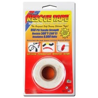 Rescue Tape Self-fusing Silicone Tape (Clamshell White, 1-Inch by 12-Feet)
